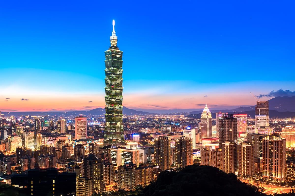 تايوان 航空券